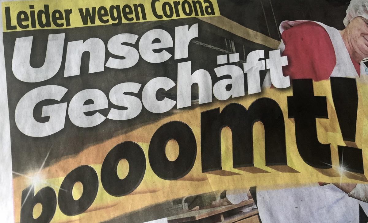 """Schlagzeile in """"Bild"""": """"Unser Geschäft boomt"""""""